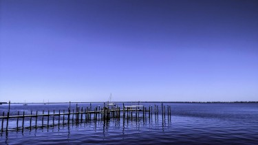 Port Charlotte sits on the northern shore of Charlotte Harbor.